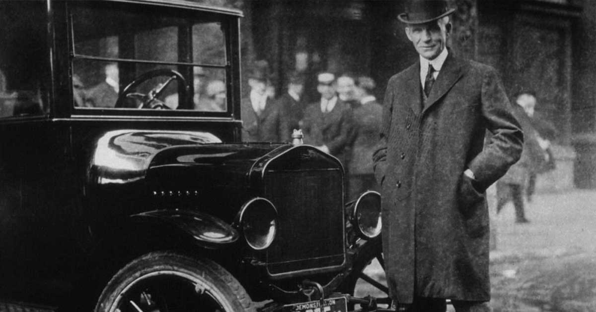 ritratto Henry Ford